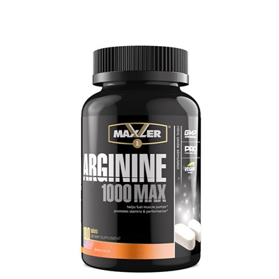Maxler Arginine 1000 Max (100таб) - фото 7148