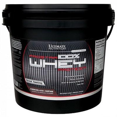 Ultimate Nutrition 100% Prostar Whey Protein (4540гр) - фото 7733