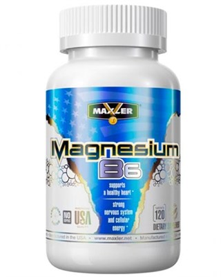 Maxler Magnesium B6 (120таб) - фото 7752
