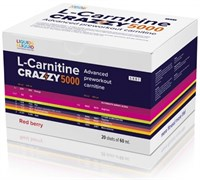 LIQUID & LIQUID - L-Carnitine Crazzy 5000 (20x60мл)