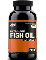 Optimum Nutrition Fish Oil Softgels (200капс)