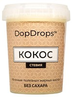 DopDrops Протеиновая паста Кокос (стевия) (1000гр)