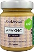 DopDrops Паста Арахис Лайт стекло (без добавок) (265гр)