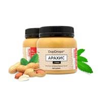 DopDrops Протеиновая паста Арахис (стевия) (250гр)