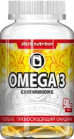 aTech Nutrition Omega 3 +vitamin Е (90гел.капс)