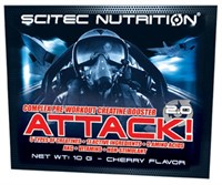 Scitec Nutrition Attack 2.0 (1 порция) пробник