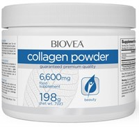 Biovea Collagen Powder 6600 mg (198гр)