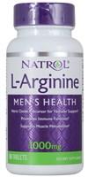 Natrol - L-Arginine 1000mg (50таб)