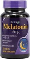 Natrol - Melatonin 3mg (120таб)