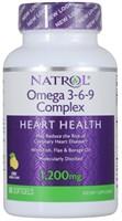 Natrol - Omega 3-6-9 Complex (60гел.капс)