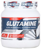 GeneticLab Nutrition - Glutamine Powder (500гр)