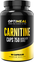OptiMeal Carnitine caps 750 (90капс)
