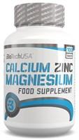 BioTech USA Calcium Zinc Magnesium (100таб)
