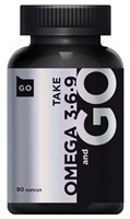 Take and Go Omega 3-6-9 (90гел.капс)