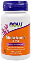 NOW - Melatonin 3 mg (60капс)