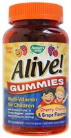 Nature's Way Alive! Children`s Multi-Vitamin Gummies (90жев.таб)