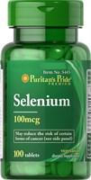 Puritan's Pride Selenium 100mcg (100табл)