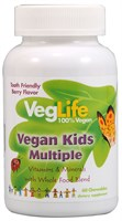 VegLife Vegan Kids Multiple (60жев.таб)