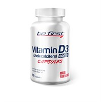 Be First - Vitamin D3 (60гел.капс)