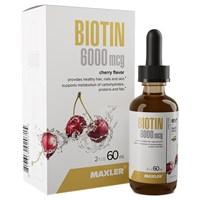 Maxler Biotin 6000 mcg (60мл)