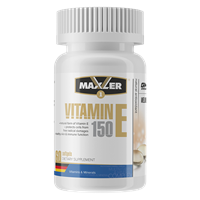 Maxler Vitamin E Natural form 150mg (60гел.капс)