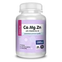 ChikaLab - Ca+Mg+Zn, D3, K2 (60таб)