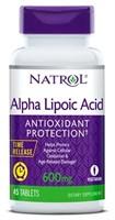 Natrol - Alpha Lipoic Acid 600mg (45капс)