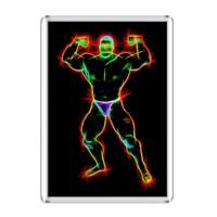 ЯнеЖ Сувенир на магнитной основе в рамке (161х111мм) «Be Strong»