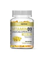 aTech Nutrition Vitamin D3 600ME 250mg (240капс)