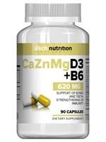 aTech Nutrition Calcium Zinc Magnesium+D3+B6 (90капс)