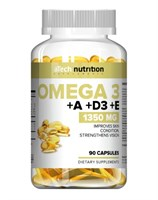 aTech Nutrition Omega 3 +А+D3+Е (90гел.капс)