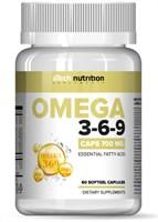 aTech Nutrition Omega 3-6-9 700mg (60гел.капс)
