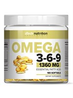 aTech Nutrition Omega 3-6-9 (180гел.капс)