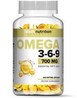 aTech Nutrition Omega 3-6-9 700mg (240гел.капс)