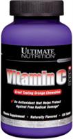 Ultimate Nutrition Vitamin C (120жев.таб)