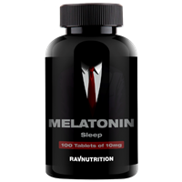 RAVNUTRITION Melatonin 10mg (100таб)