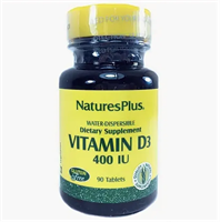 Nature's Plus Vitamin D3 400 IU (90табл)
