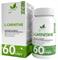 Natural Supp L-Carnitine Tartrat 750mg (60капс) - фото 6547